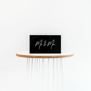 Acrylic Wishing Well (Black)