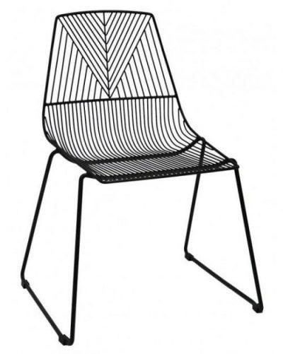 Arrow Chair - Black
