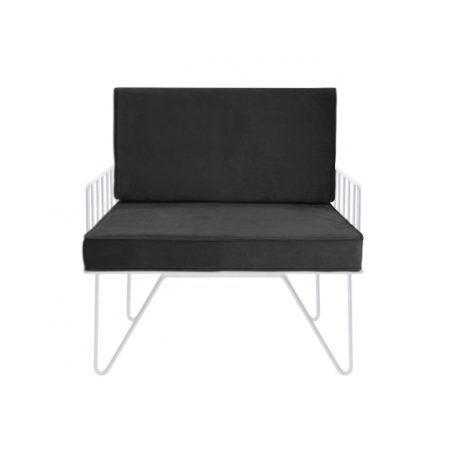 Contemporary Lounge Chair - Black