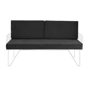 Black Contemporary Sofa