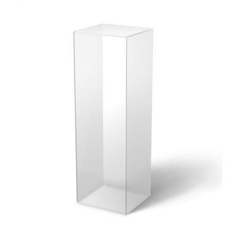Clear Acrylic Plinth
