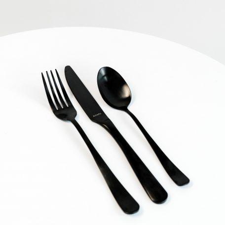 Black Cutlery set