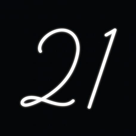 21st Neon Sign