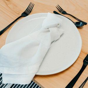 Premium Linen Napkins White